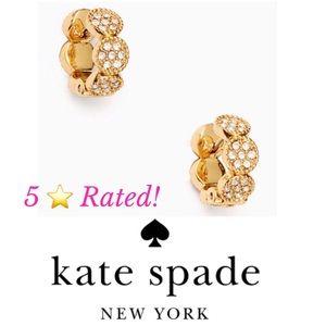Kate Spade Gatsby Dot Huggies Earrings - 5⭐️ Rated